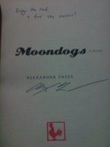 """Moondogs"" signed by Alexander Yates"
