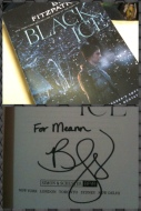 """Advance Reader's Copy of """"Black Ice"""" signed by Becca Fitzpatrick on 2014.03.29"""