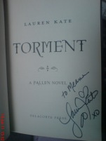 "Signed ""Torment"""