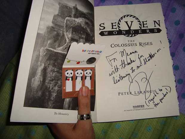 signed 7 wonders