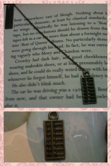 abacus bookmark