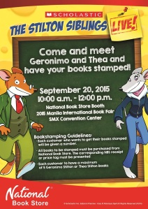 geronimo stilton MIBF - FINAL
